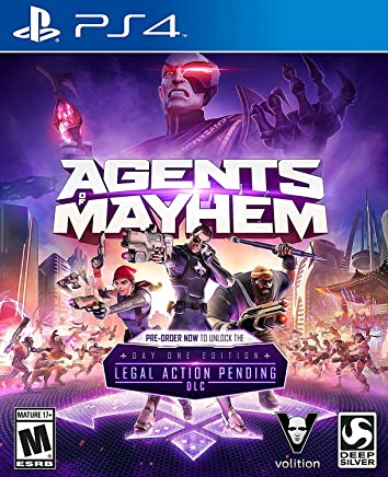 Agents of Mayhem - Day 1 Edition - PlayStation 4
