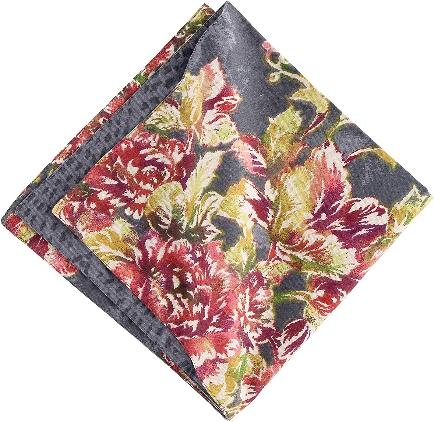 Max 46% OFF CF Home Regina Napkin Set of 6 Free Shipping New Flor Cotton Reversible Oversized