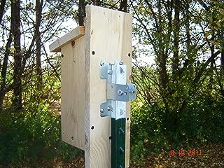Wesbry Products Birdhouse Mounting Bracket - 2pack
