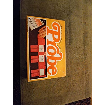PROBE Parker Brothers Board Game Of Words Vintage 1964 Complete and Original Box