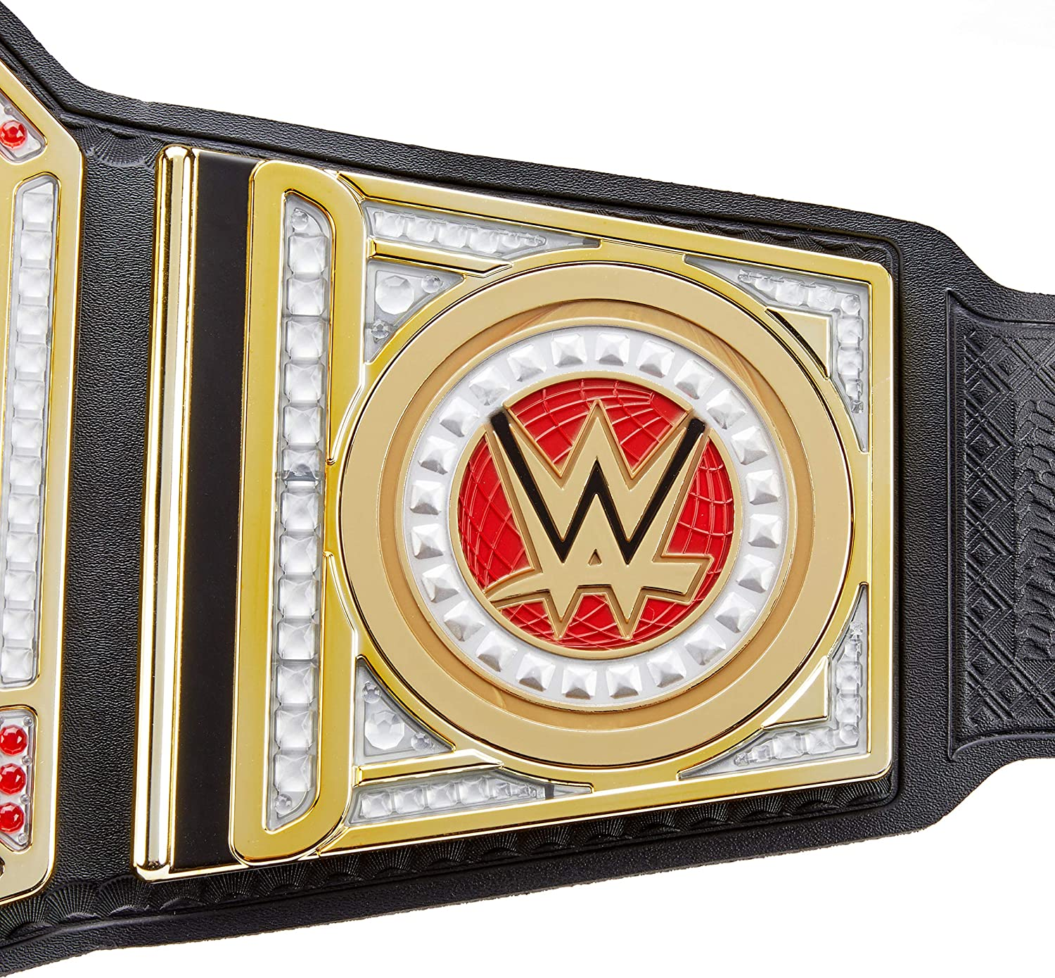 WWE Championship Showdown Deluxe Role Play Title, Authentic Styling with 4...