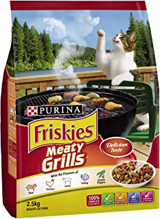 Purina Friskies Adult and Senior Meaty Grills, 2.5kg