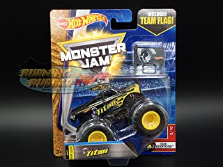 Monster Jam 2017 Titan World Finals 8/10 Epic ADDITIONS HOT Wheels Truck CASE K New