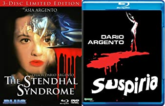 The Stendhal Syndrome 3-Disc Limited Edition Blu Ray & Suspiria Dario Argento's Double Feature Cult Terror Classics