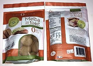 Low Carb Melba Toast 2 4oz Packs (ONION & GARLIC 2 PACK)
