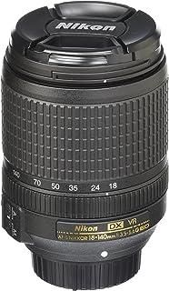 Nikon AF-S DX NIKKOR 18-140mm f/3.5-5.6G ED VR Lens, Black, 5.1 Inches (JAA819DD)