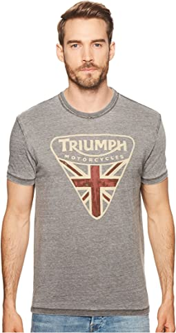 Lucky Brand - Triumph Badge Tee