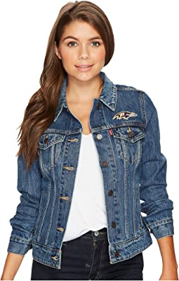 Levi's® Womens Ravens Sport Denim Trucker