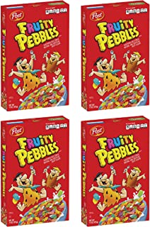 Sponsored Ad - Post Fruity PEBBLES Cereal, Gluten Free,10 Essential Vitamins and Minerals, Sweetened Rice Cereal , 11 Ounc...