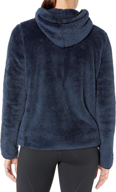 Core Products womens Cozy Teddy Bear Fleece Yoga Full-Zip Hoodie Jacket Fleece Jacket