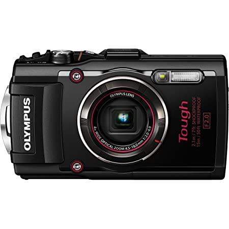 OLYMPUS デジタルカメラ STYLUS TG-4 Tough ブラック 1600万画素CMOS F2.0 15m 防水 100kgf耐荷重 GPS+電子コンパス&内蔵Wi-Fi TG-4 BLK