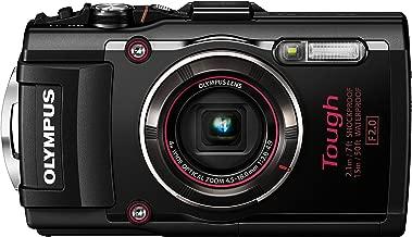 Olympus TG-4 16 MP Waterproof Digital Camera with 3-Inch LCD (Black) - International Version