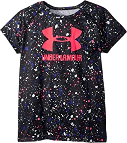 UA Novelty Big Logo Short Sleeve Tee (Big Kids)