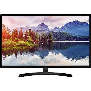 LG 32MP58HQ-P 32-Inch IPS Monitor with Screen Split, Black