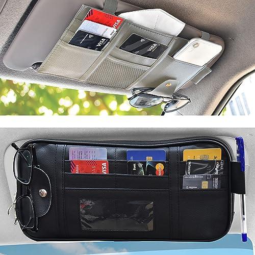 discount EcoNour Gift Bundle | Car Visor Organizer + Car Sun Visor Organizer | Car Accessories Organizer | Auto Interior new arrival Travel Accessories | new arrival Truck Driver Essentials online sale