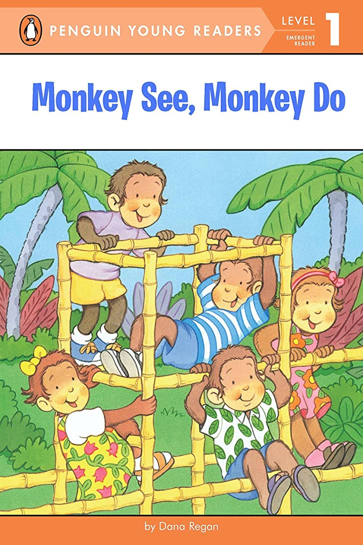 宿泊原稿ビートMonkey See, Monkey Do (Penguin Young Readers, Level 1) (English Edition)