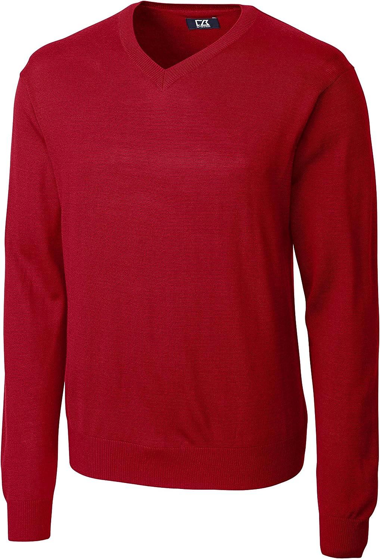 Cutter & Buck Men's Big-Tall Douglas V-Neck Sweater