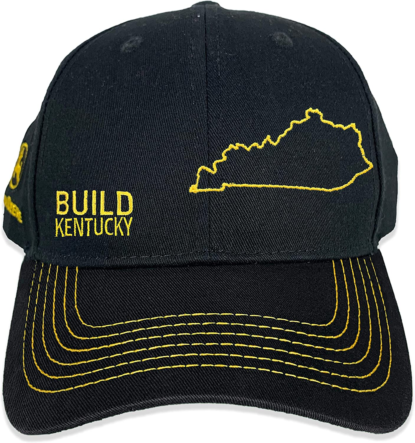 John Deere Build State Pride and Twill Hat-Black Dallas Mall Sale special price Grey Full