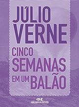 Cinco Semanas em um Balão: Texto adaptado (Júlio Verne) (Portuguese Edition)
