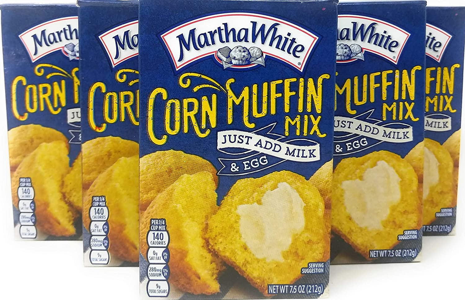 Martha White Corn National Manufacturer direct delivery products Muffin Mix - 6 7.5 Oz x of M