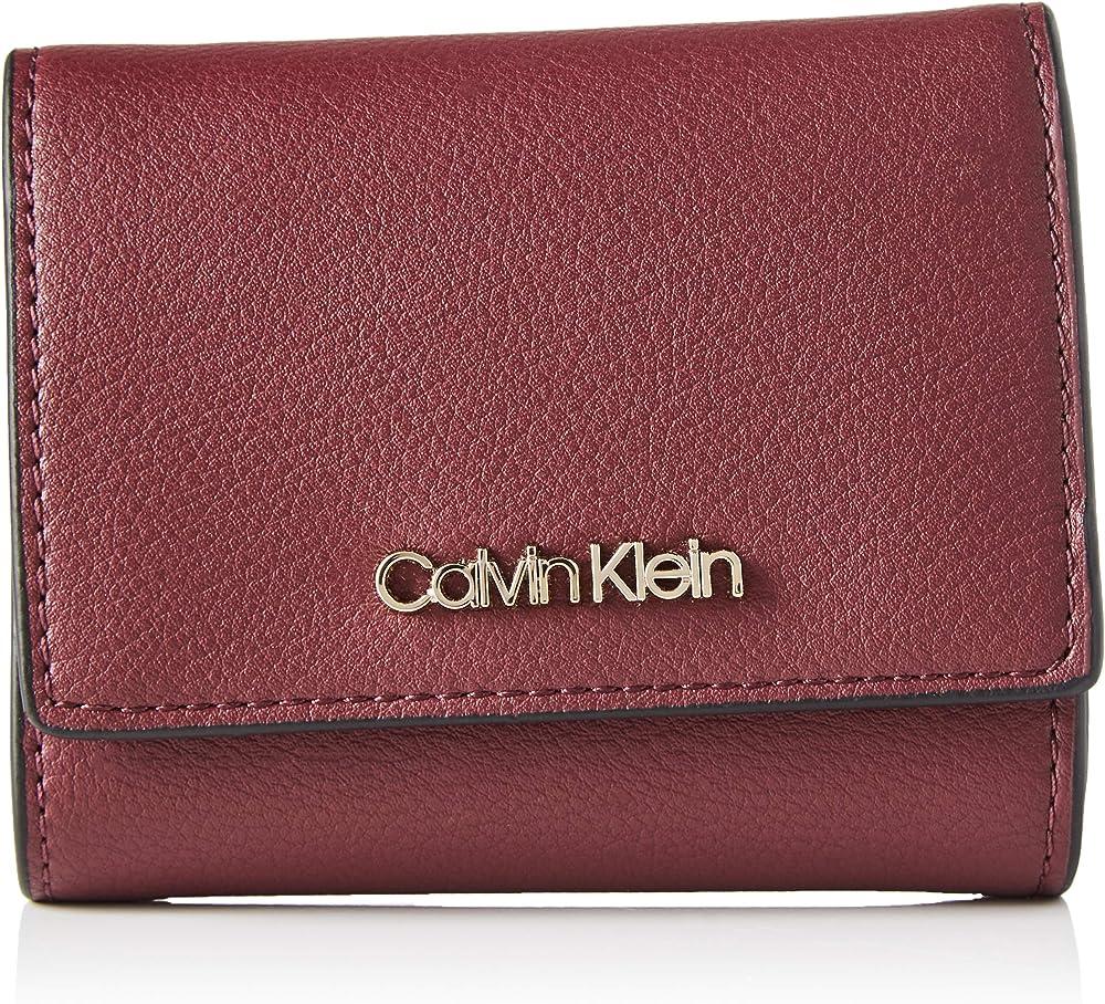 Calvin klein, wallets, portafoglio per donna,in pelle sintetica K60K607251