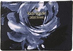 Kate Spade New York - Cameron Street Night Rose Card Holder
