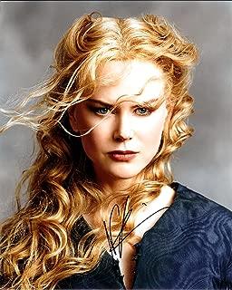 Nicole Kidman Autograph Signed 8 x 10 Photo