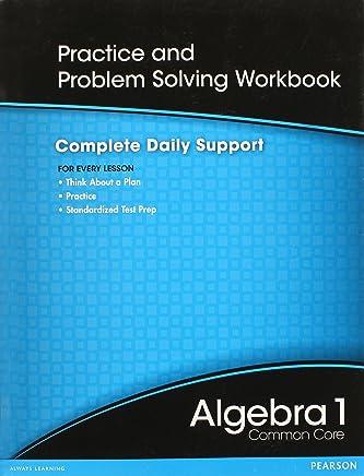 Amazon com: Pearson Algebra 1 Common Core Answer Key: Books