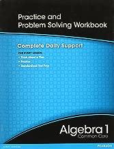HIGH SCHOOL MATH 2012 COMMON-CORE ALGEBRA 1 PRACTICE AND PROBLEM        SOLVINGWORKBOOK GRADE 8/9