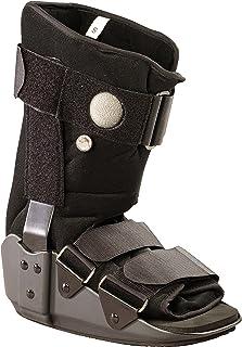 OTC Short Leg Adjustable Air Cast Low Top Walker Boot, Black, Small