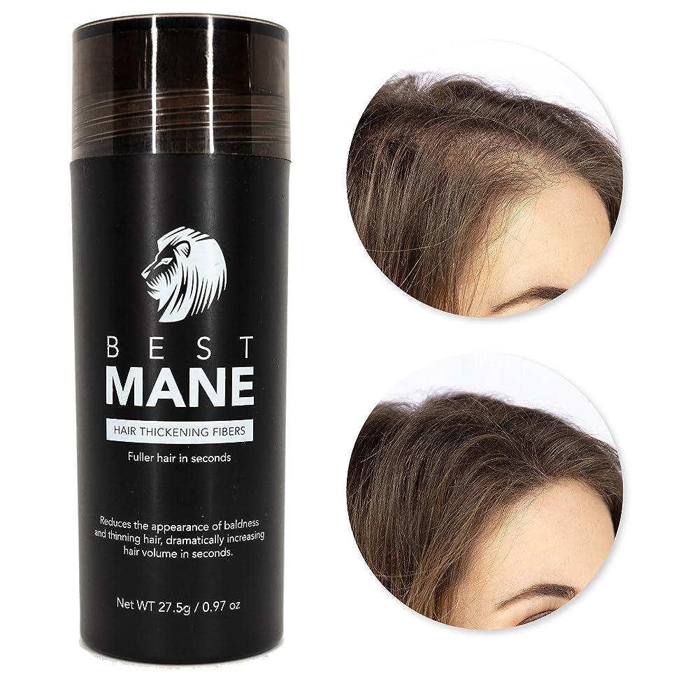 Premium Hair Thickening Fibers for Women & Men | 0.97 oz (Dark Brown)