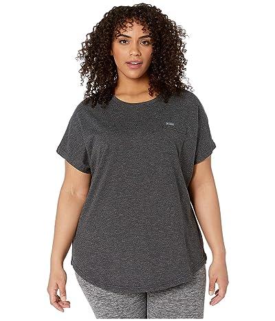 Columbia Plus Size Cades Capetm Tee (Black) Women