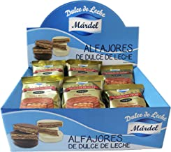 Alfajores Mardel chocolate negro 24ud