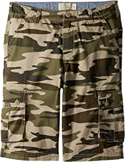 Lucky Brand Kids - Cargo Shorts Camo (Big Kids)