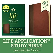 Tyndale NLT Life Application Study Bible, Third Edition (LeatherLike, Brown/Mahogany) NLT Bible with Updated Notes and Features, Full Text New Living Translation