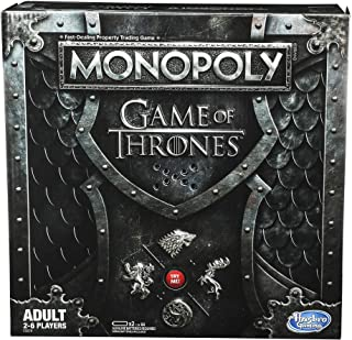 Monopoly - Game of Thrones - Got - Winterfell Castle, Westeros - 2 to 6 Players - Board Games - Ages 18+
