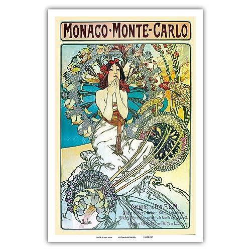 Art Deco Vintage Poster: Amazon com