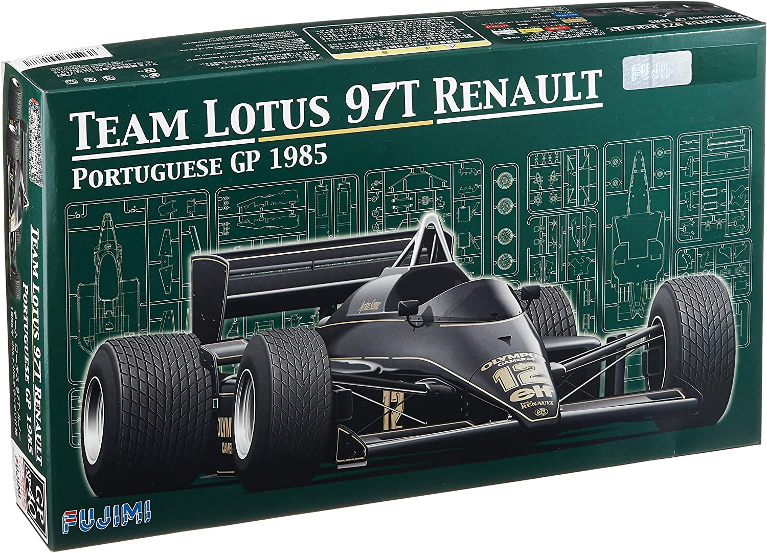 1 20 Grand Prix Series SPOT No.40 Lotus 97T Portugal GP driver with figures