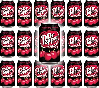 Dr Pepper Cherry, 12 Fl Oz Can (Pack of 18, Total of 216 Oz)