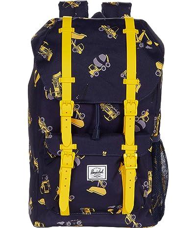 Herschel Supply Co. Kids Herschel Little America Backpack (Little Kids/Big Kids) (Construction Zone) Backpack Bags