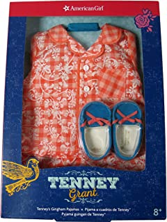 American Girl Tenney's Gingham Pajamas for 18-inch Dolls