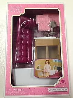 Luxury Bathroom Set, Our Generation for mini dolls.