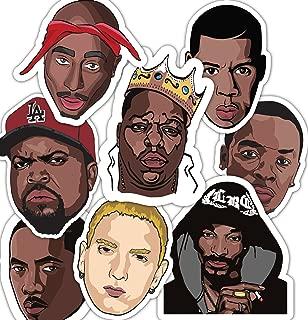 90's Rappers Sticker Set - Water bottle Stickers - Sticker Bomb - Laptop Stickers **Water Proof Stickers**