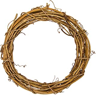 Darice GPV10 Grapevine Wreath, 10-Inch