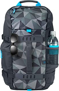 HP 15.6 Odyssey Facet Grey Backpack