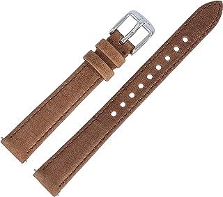 Fossil ES-3708   LB-ES3708 Bracelet de montre en cuir Marron 14 mm