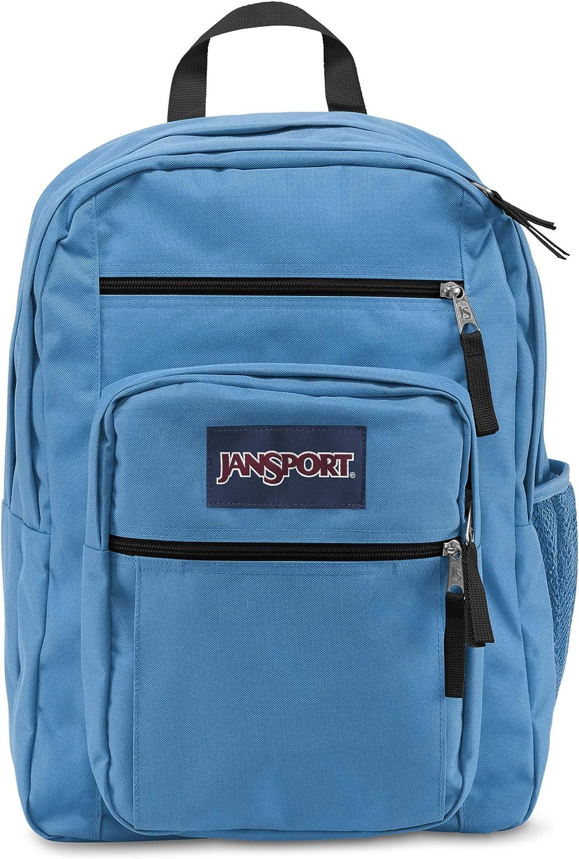 JanSport Big Student Dedicated Laptop Compartment Backpack Coastal blueee