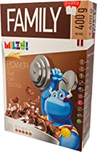 MILZU Cereal Cocoa SHELS Family Pack 400G Pack of 8