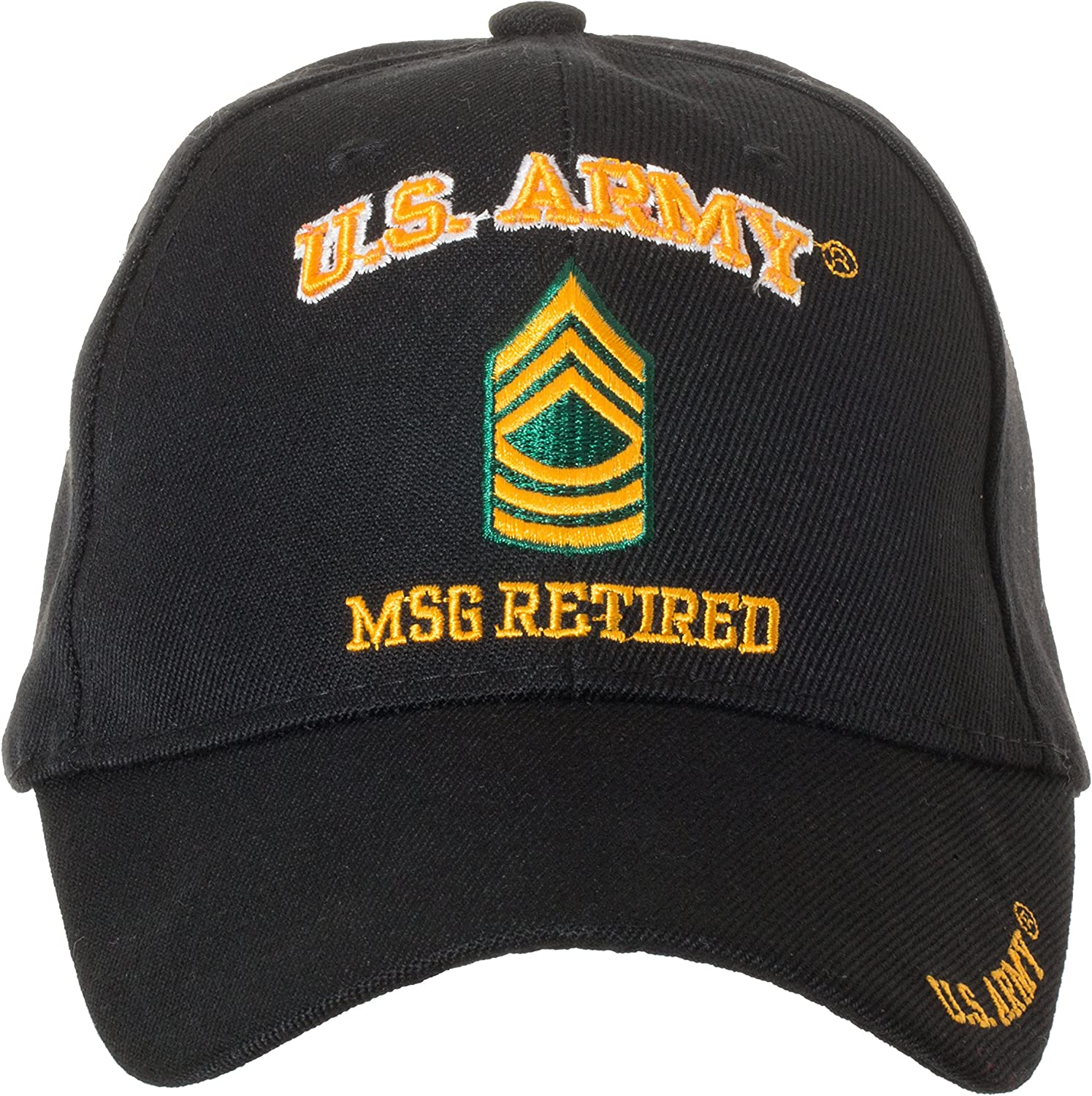 32b58193c534a4 Artisan Owl Owl Owl Officially Licensed US Army Retired Baseball Cap -  Multiple Ranks Available d304a5