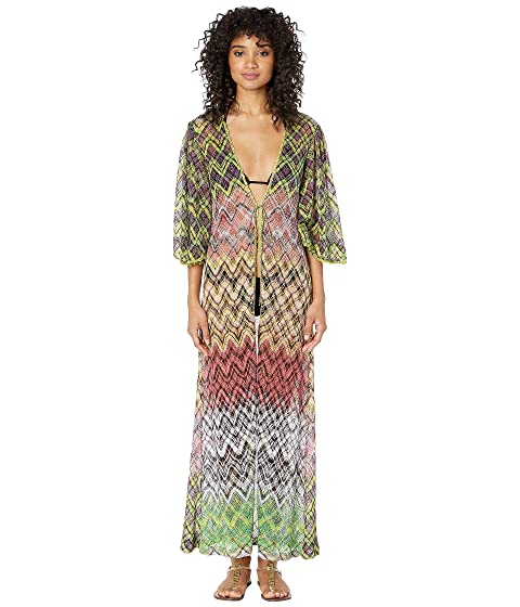 Missoni Mare Lurex Net Long Cardigan Cover-Up